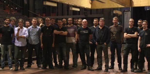 Groepsfoto Toneelgroep Amsterdam