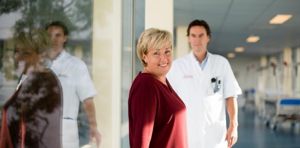Sandra met arts