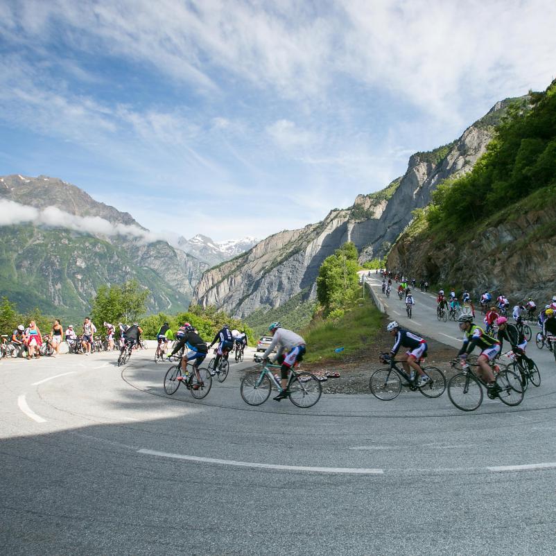 Afdaling Alpe d'HuZes