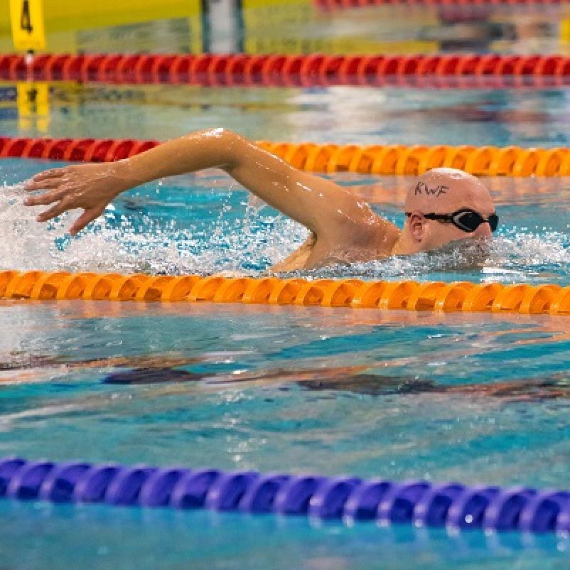 zwemmarathon Maarten