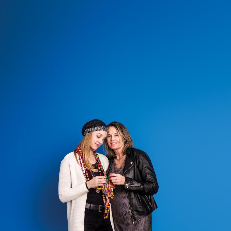 Lisanne en Ilona