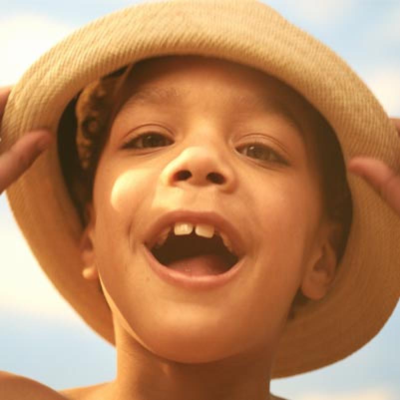 Jongetje met hoed