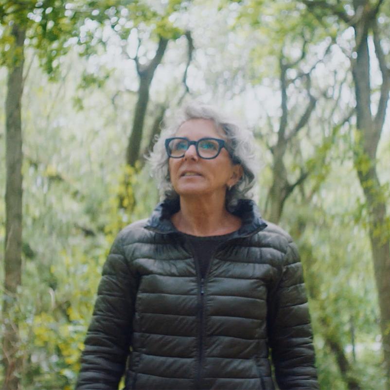 Henriette in het bos