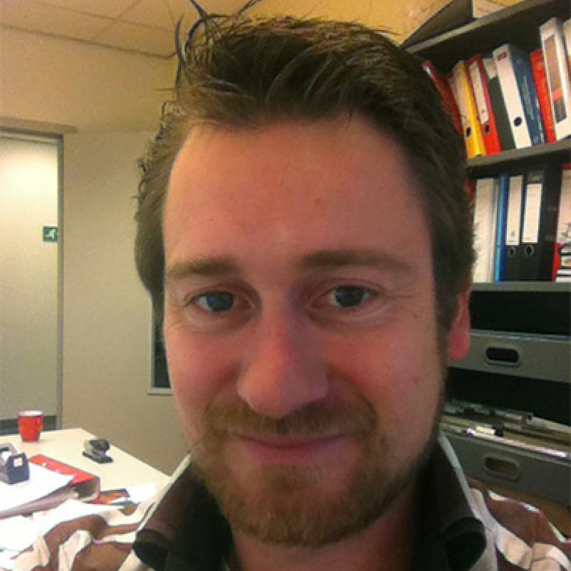 Onderzoeker Kasper Rouschop