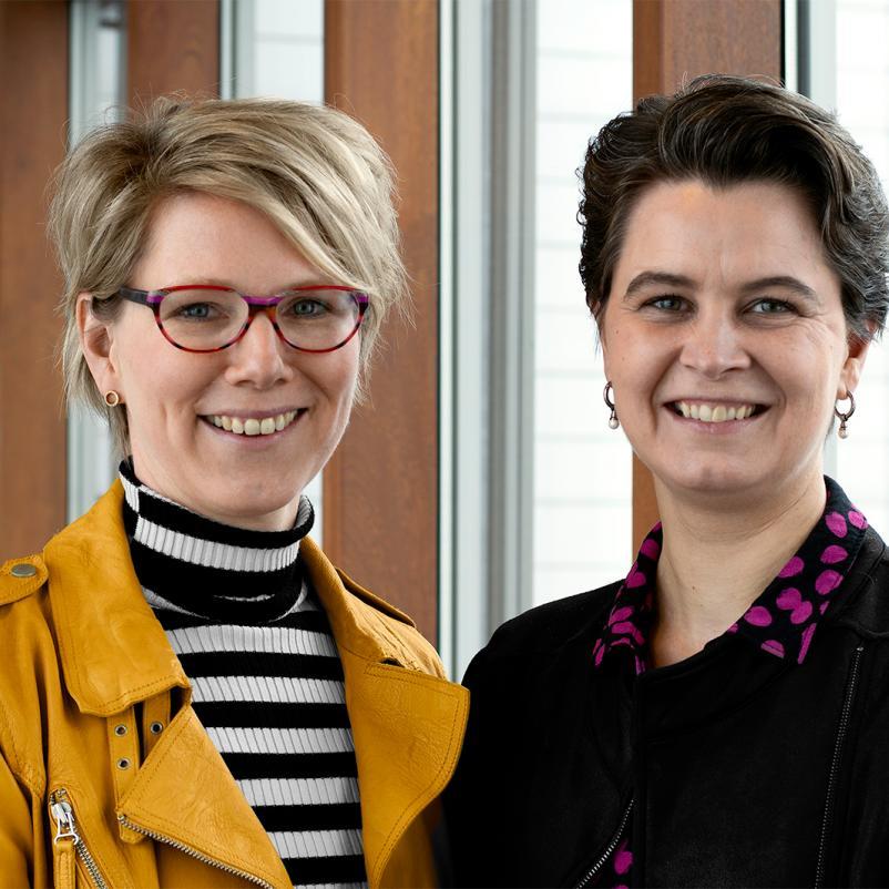 Onderzoekers Koopman en Vink