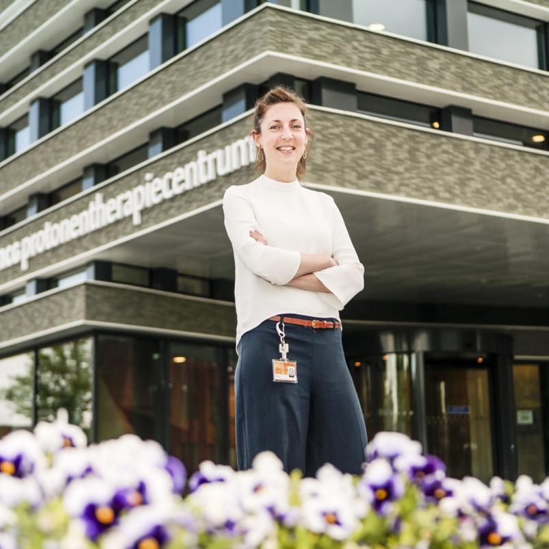 Onderzoeker Antje Knopf UMCG Protonentherapiecentrum