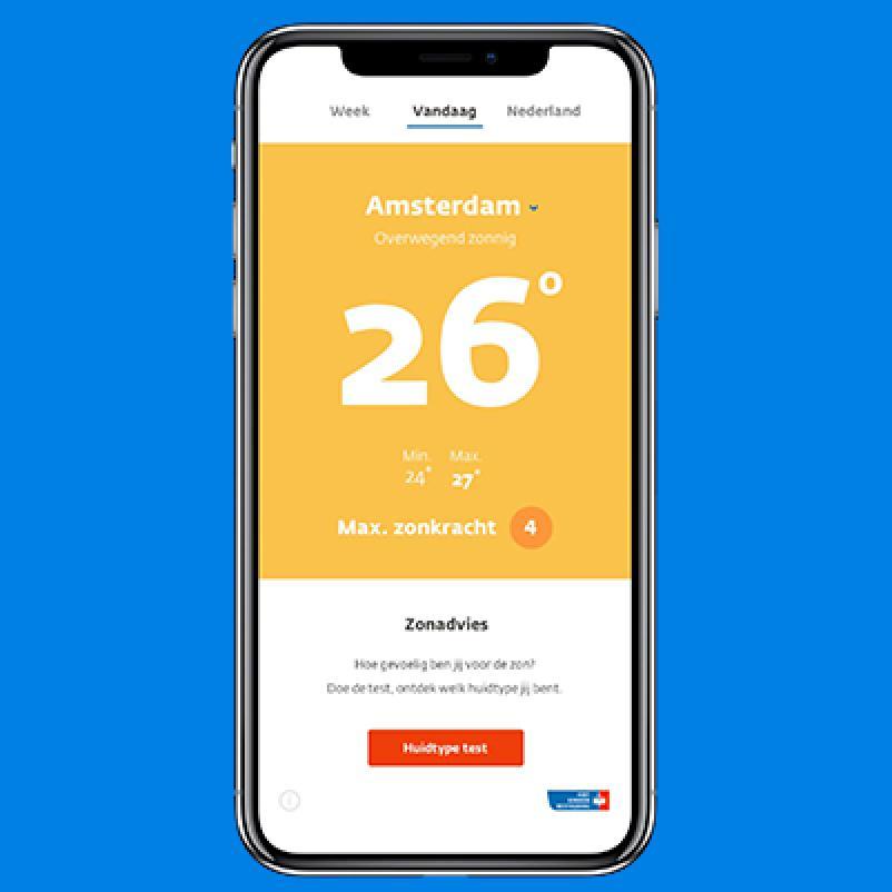 KWF Zonadvies app
