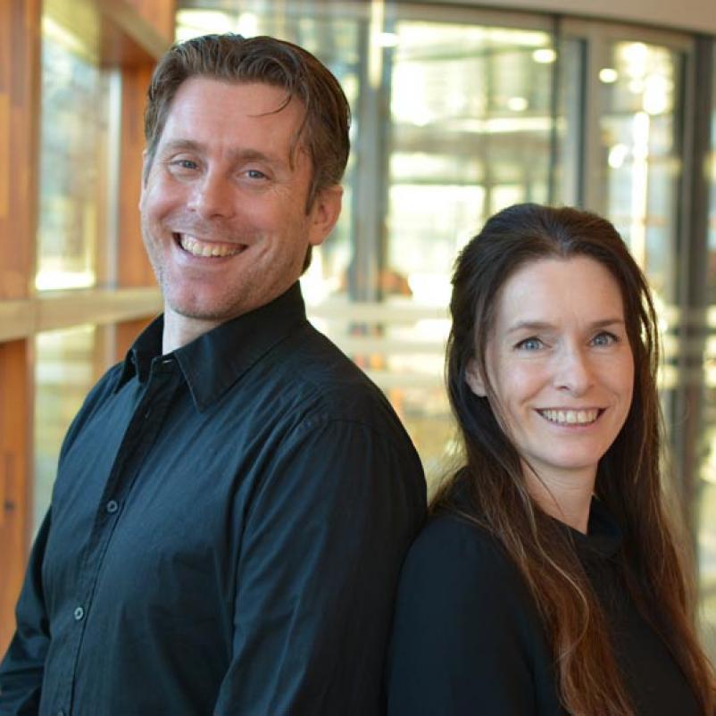 Onderzoekers Peter Bosman en Tanja Alderliesten