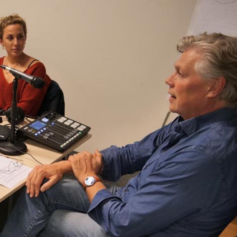 podcast Fien, Astrid, Roelof