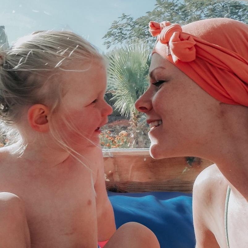 Lucinda en dochter