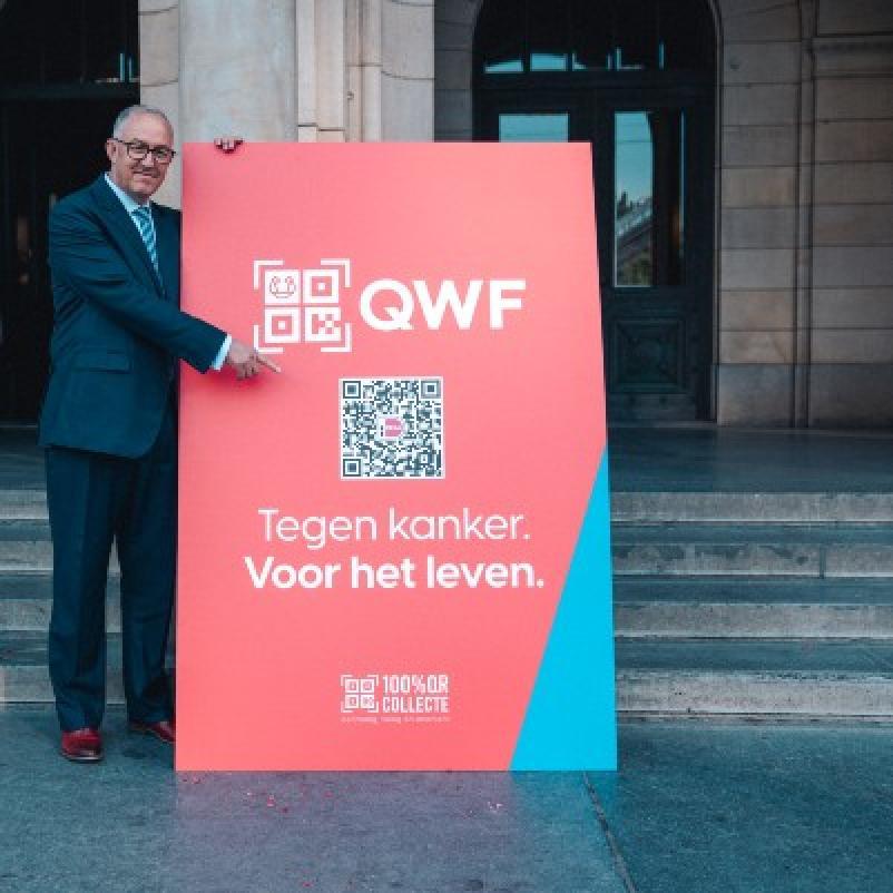 Onthulling QWF door burgemeester Aboutaleb