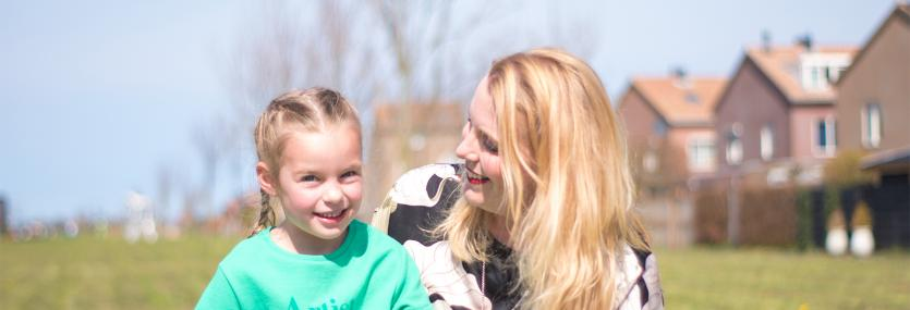 Priscilla en haar dochter