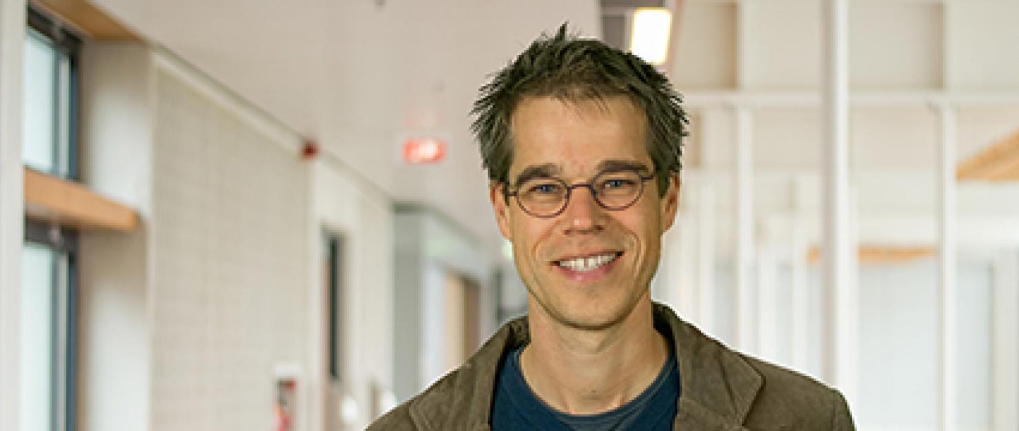 Portretfoto onderzoeker Hans