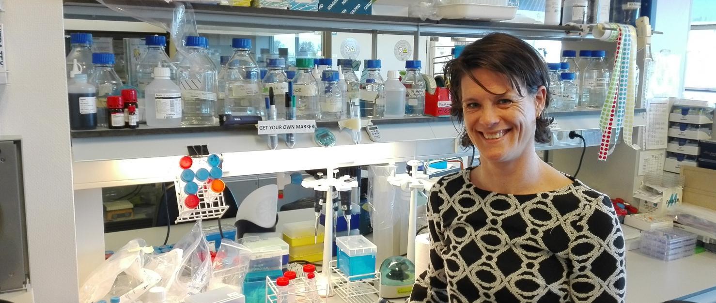 Onderzoeker Inge Verbrugge