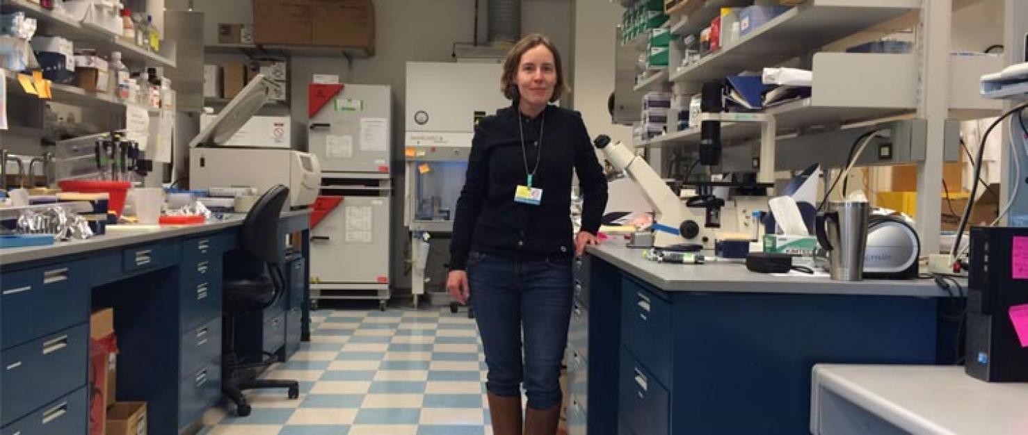 Onderzoeker Marleen Kok