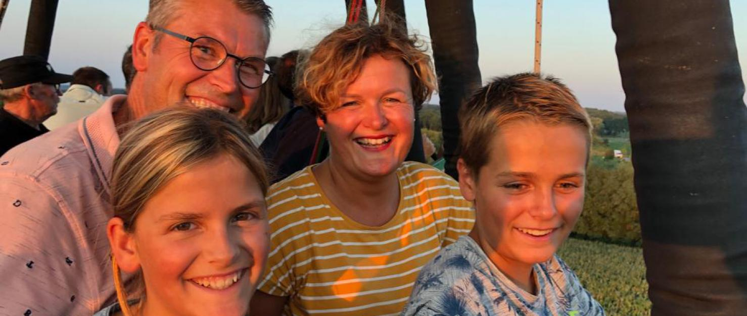 Wim en zijn gezin