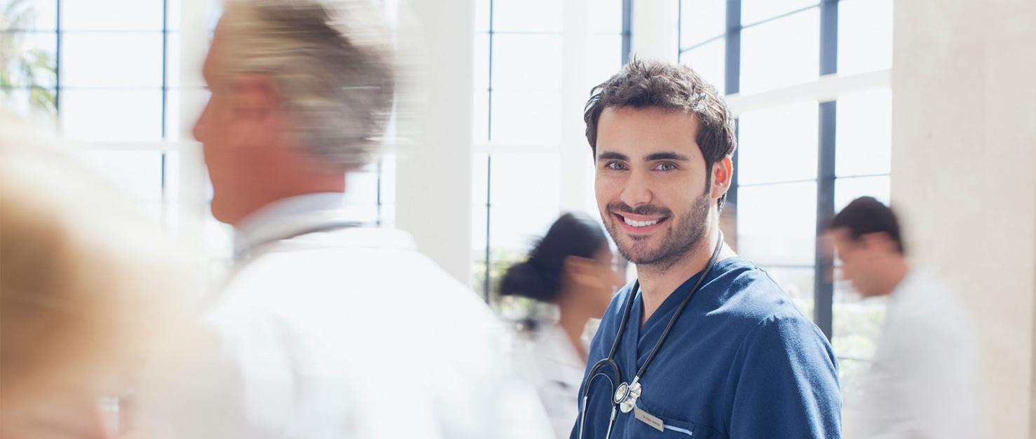Arts in het ziekenhuis