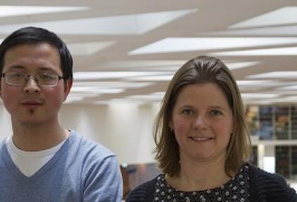 Onderzoekers van de week: Sonja Buschow en Qiuwei Pan