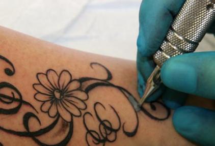 Tatoeages en kankerrisico