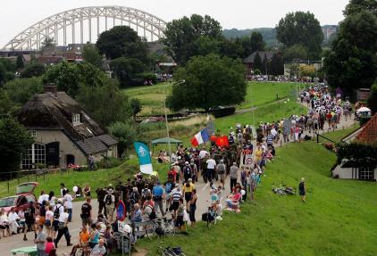 Wietske liep de Nijmeegse Vierdaagse